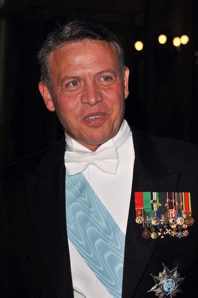 King Abdullah II in 2010