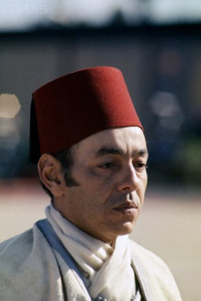 King Hassan II in 1975