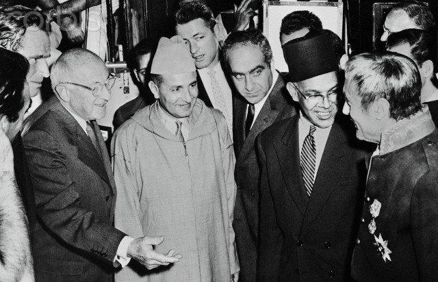 King Mohammed V in 1960