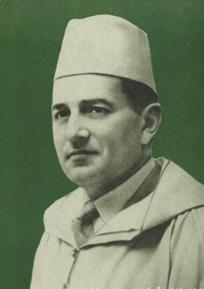 Sidi-Mohammed ben Youssef, who became king Mohammed V