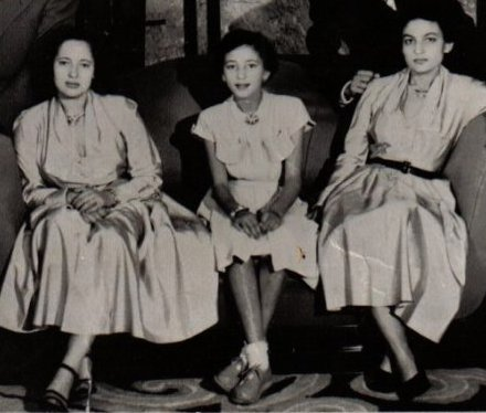 King Mohammed V and princess Lalla Abla's daughters