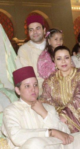 Princess Lalla Asmae and her son Moulay Yazid