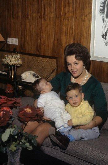 Princess Muna and her sons