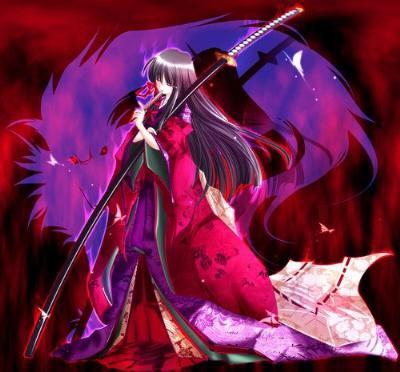 Chara nari avec Sakura en mode vampire