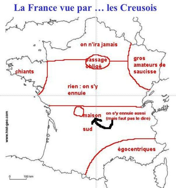 La France vus par les creusois