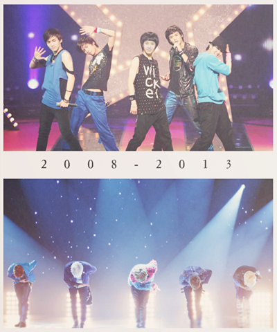 5 years... ~