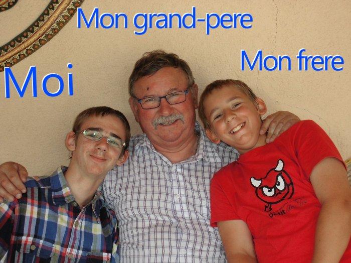 Moi et certaines personne de ma famille :)