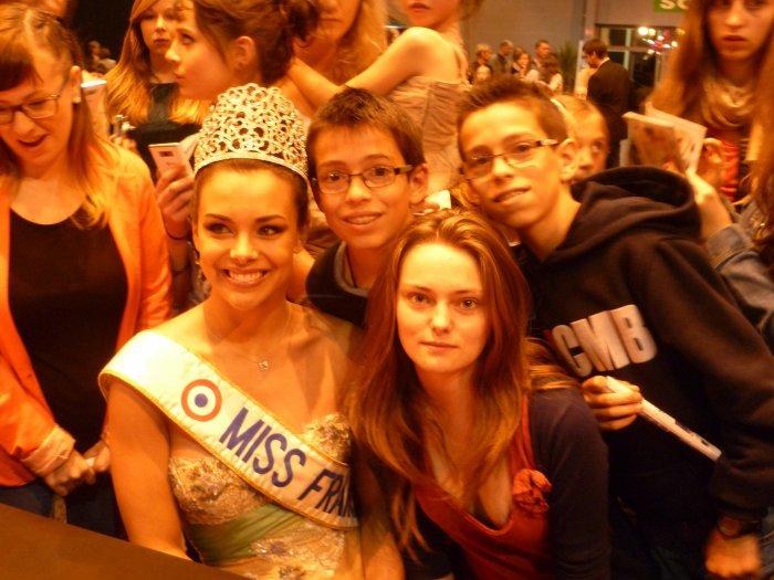 La Miss France 2013 et moi :)