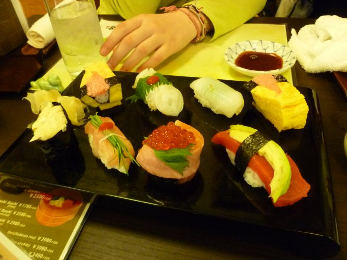 Premiers sushis degueulasse ^^
