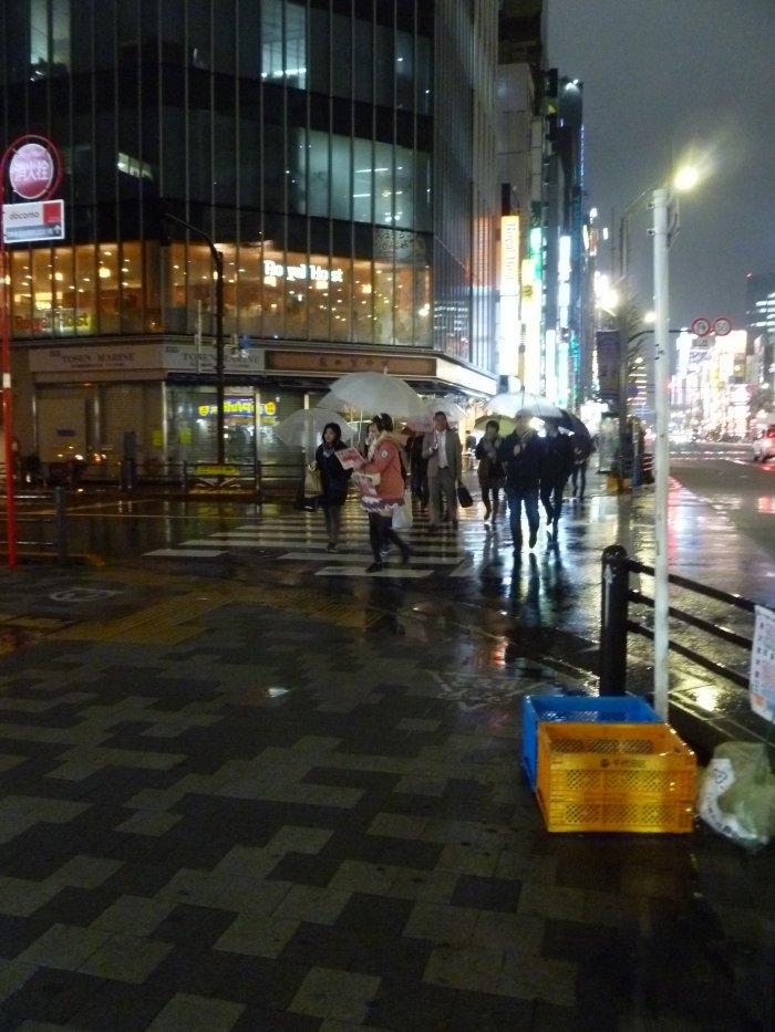 Akihabara sous la pluie =)