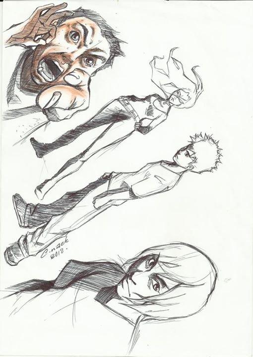 ok là c'est cool de dessiner avec le crayon mais remontons dans le temps lorsque je dessinais  avec