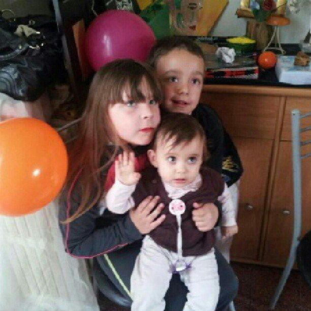Ma niece tiffany mon fils kyliann et ma filleule savannah