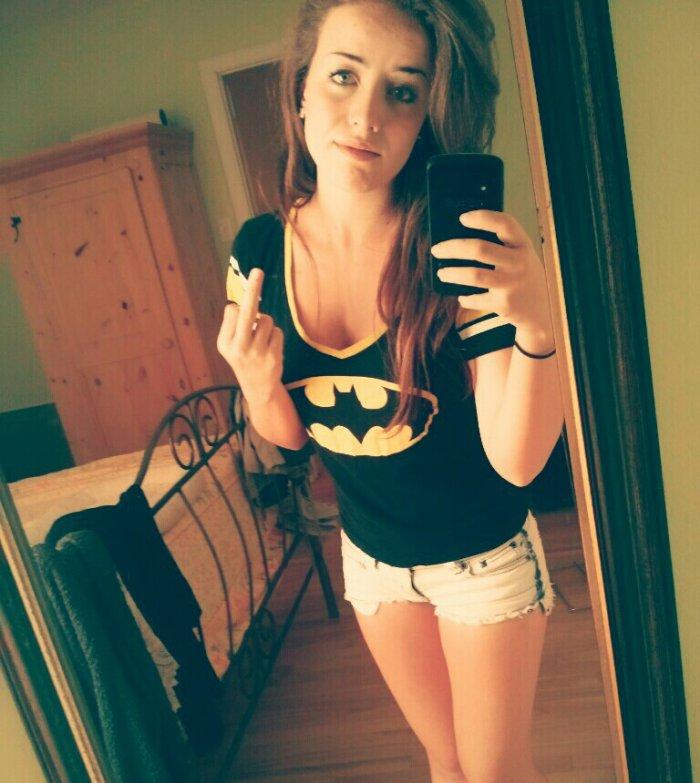 Batwoman powa :D