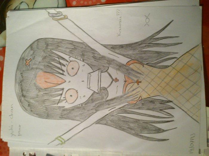 Yuki appeurée ^^