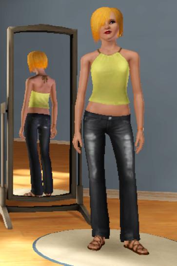 New Sims ! Prénom & nom : Aya Mitsh :3