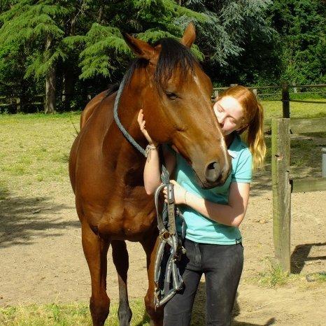 voila Poppy et moi ,ma nouvelle image de profil <3