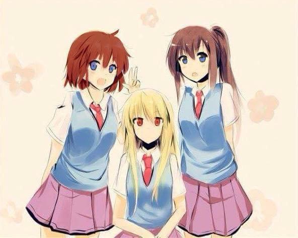 Elia, Natsumie & Amélia