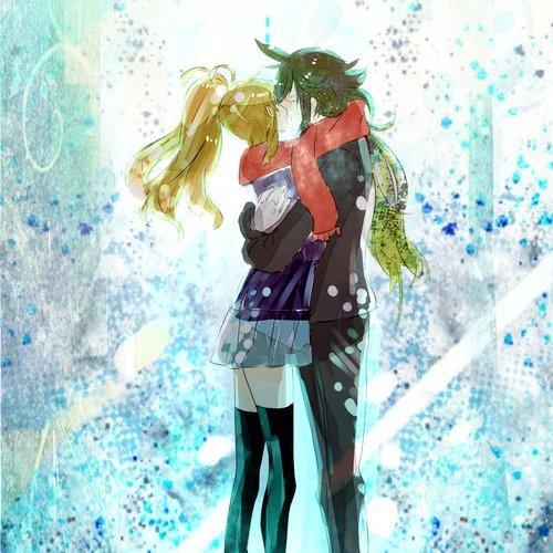 Oh le baiser d'hiver <3