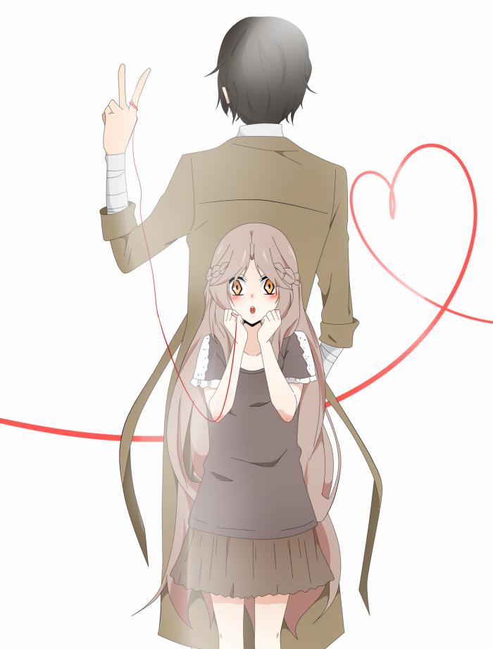 Dazai x Akinari [ j'aime le fil rouge mdrr ]