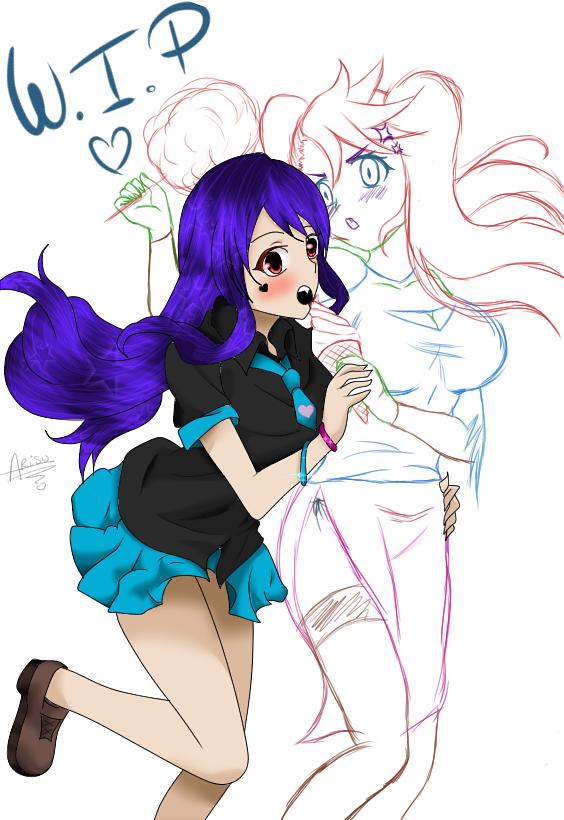 Marilyn Fujiwara & Ruby x)