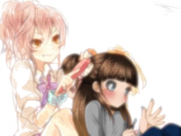 Private Collab' IRL avec Amy-sensei *//*