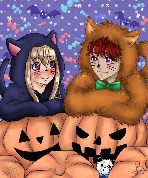 Happy Halloween ! ;; | Hyona & Tao ♥ | Open Collab' de Bae ♥