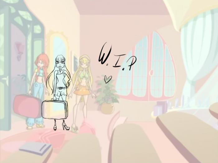 Kyla découvre la future chambre qu'elle aura avec Stella ;;
