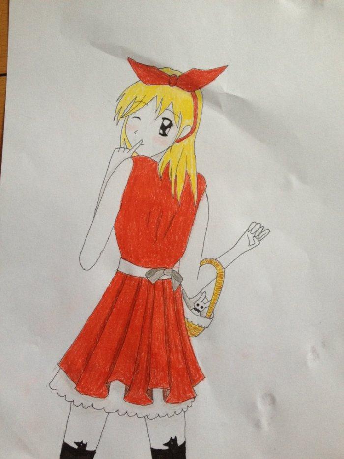Concours de Oharane // le chaperon rouge
