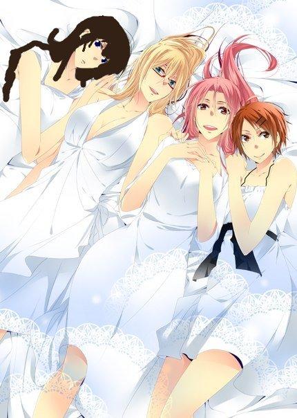 chiaki avec alexandre , satsuki et riko