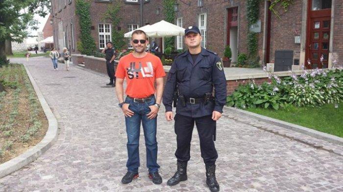 La police polonaise lol