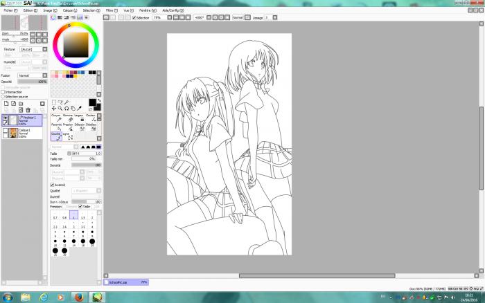 WIP Kira and Aika