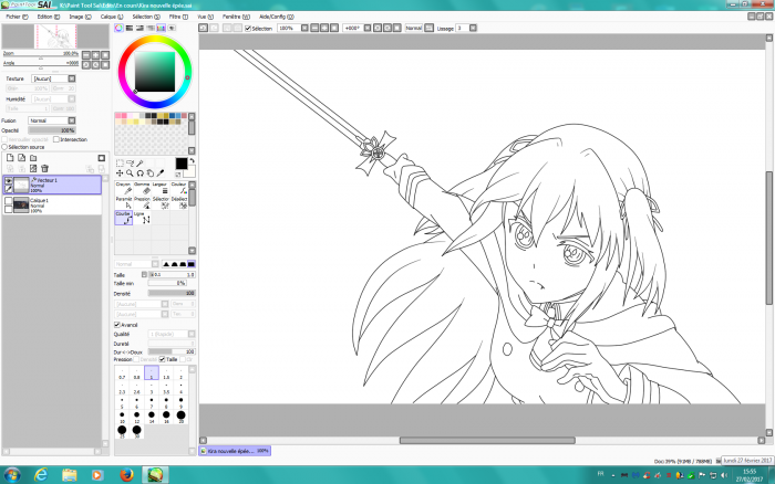 WIP Kira nouvelle épée
