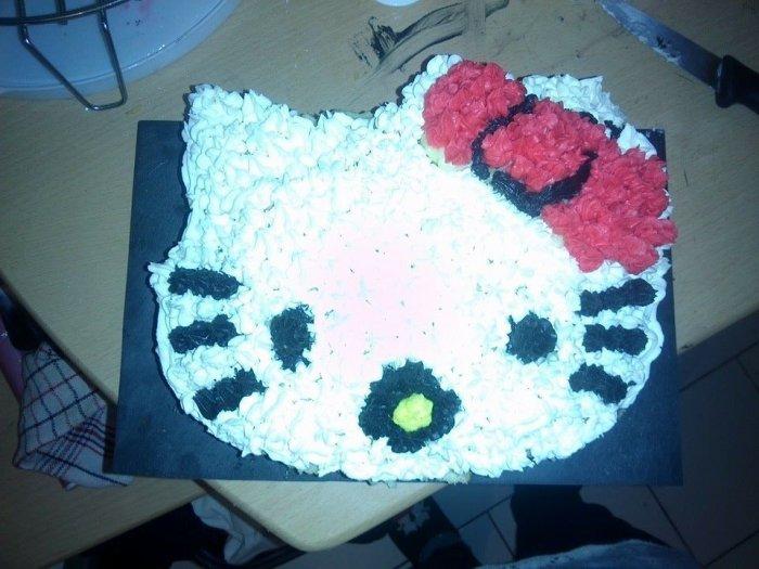 Gâteau d'Anniversaire pour les deux ans de ma fille :D