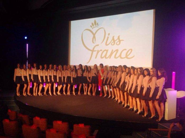 Miss France 2014 et les 33 Miss Régionales 2014