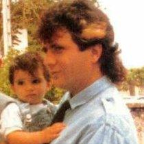 Daniel Balavoine et son fils :3