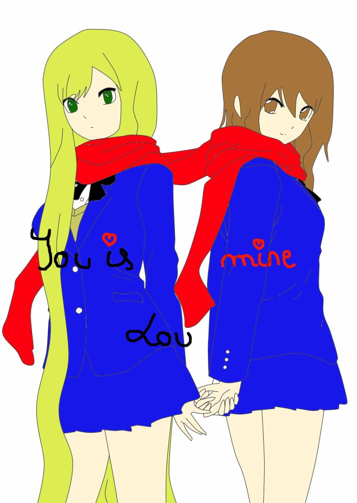 Sayuro et Lou | OC |