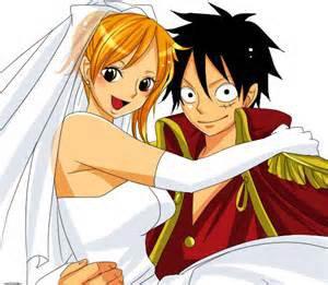 Mariage de Luffy et Nami