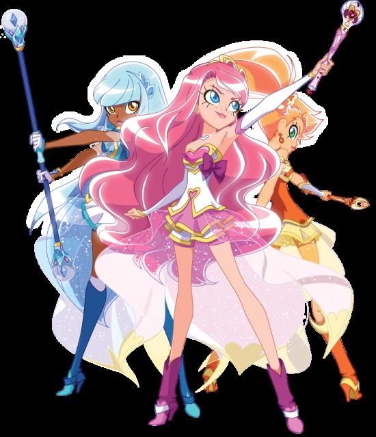 Talia,Iris et Auriana