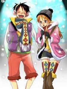 Luffy et Nami