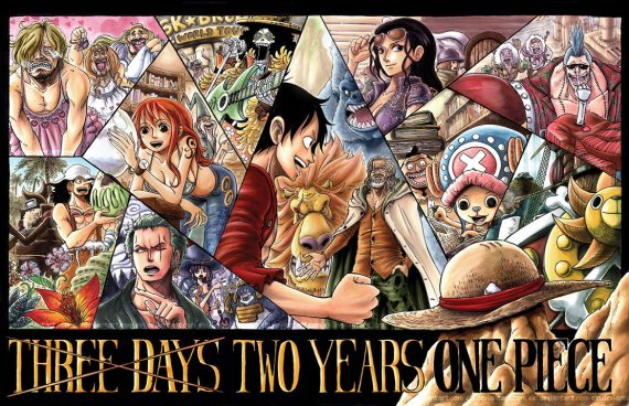 two years  one piece