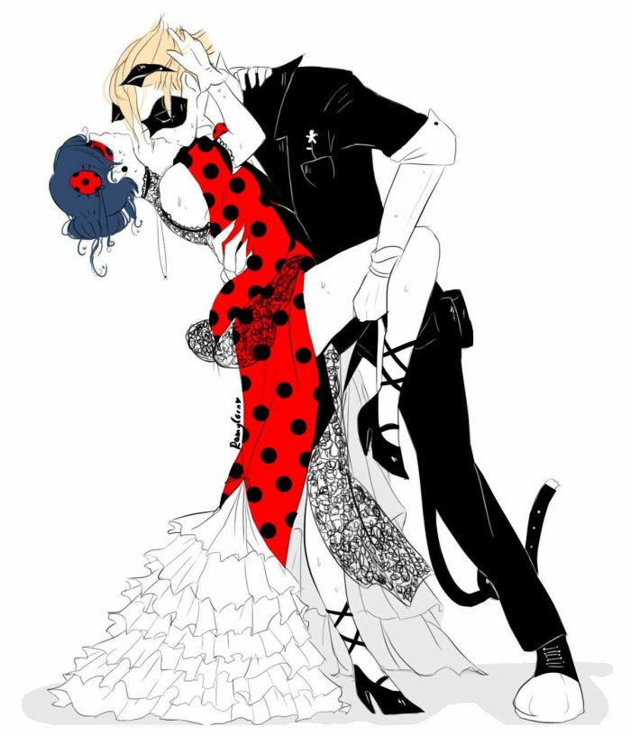Ladybug et Chat Noir