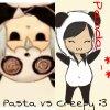 Feli-and-Pasta-does-arts