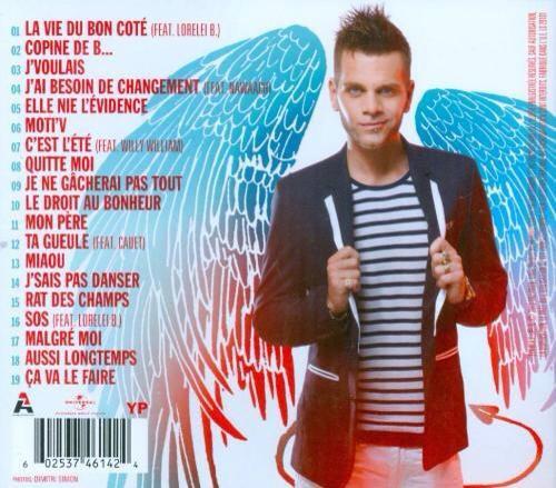 Album  Ange Ou Démon tous les titres