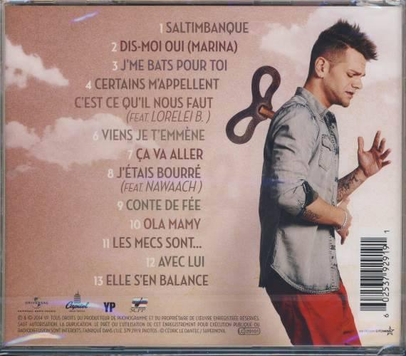 Album Saltimbanque tous les titres