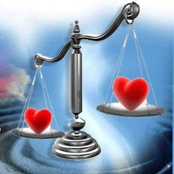 la balance dans le coeur aussi