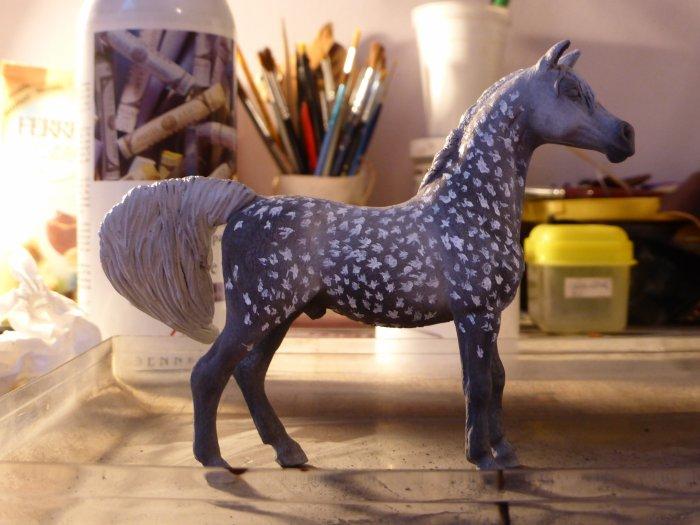 un poney étoilé