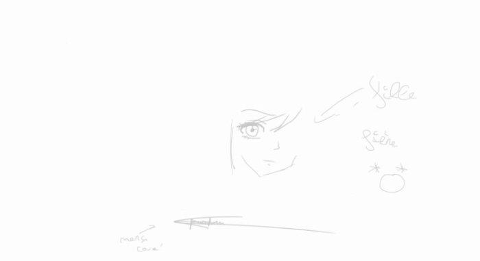 Mon tout premier dessin :')