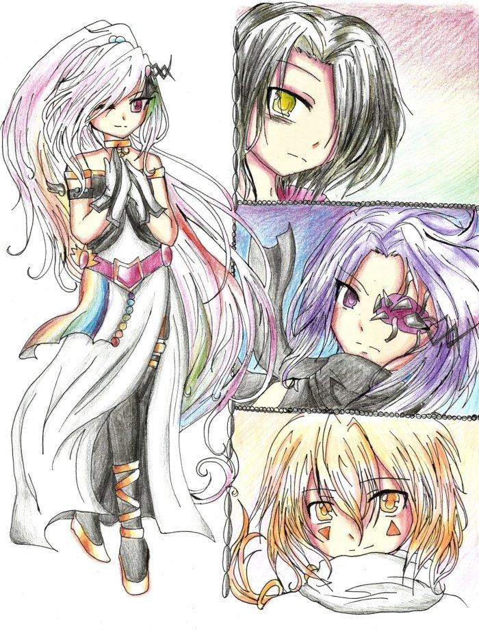 Mira , Saiki , Mitsuno et Imes - Ano ~