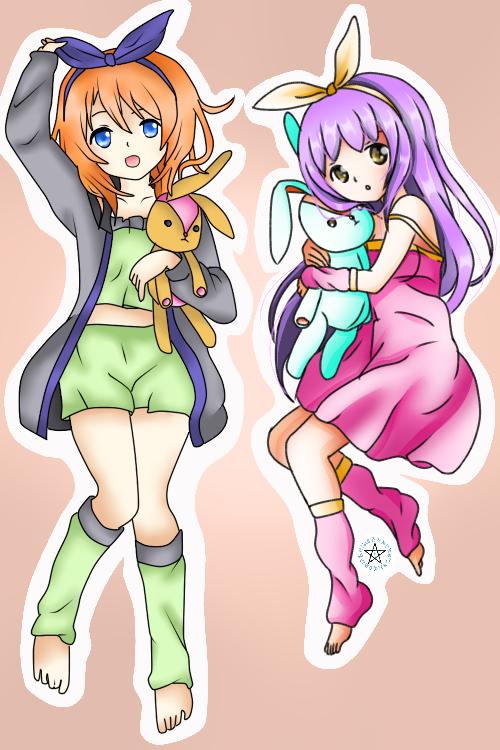 Loona et Mitsuki ♥