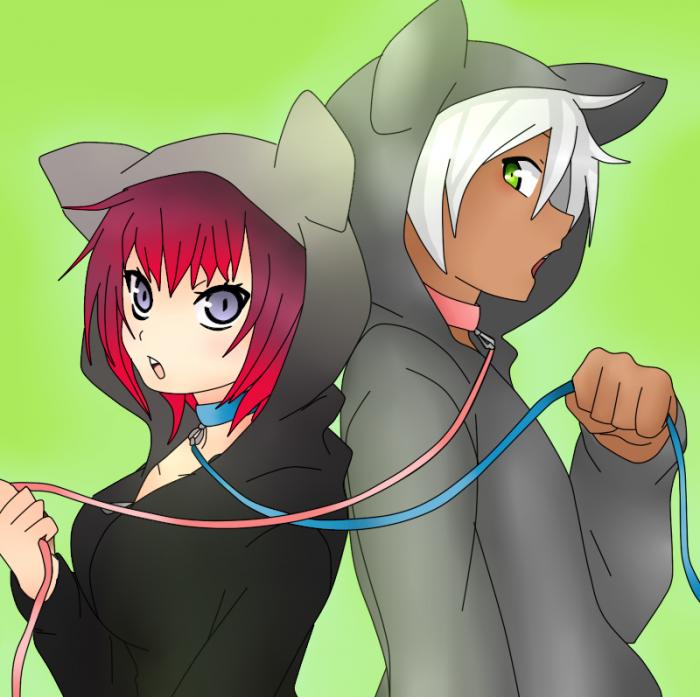 Morgane et Shiro
